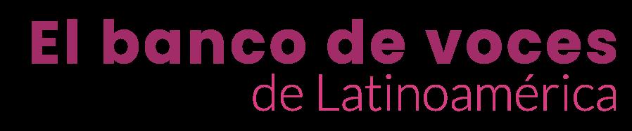 El banco de voces de latinoamerica